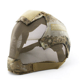 Airsoft Military Cosplay Mask V6 Steel Net Mesh Fencing Full Face Protective Tactical Mask - Cosplay Infinity