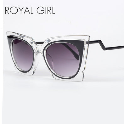New Summer Oversize Square Cat Eye Sunglasses Brand Designer Women Glasses Shades - Cosplay Infinity