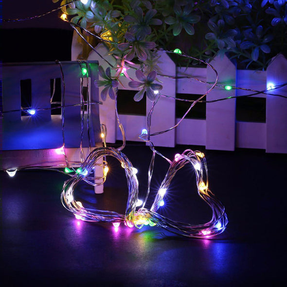 5M 50 LED String Lights Craft Bottle Garland Decoration Flasher Fairy Lights - Cosplay Infinity