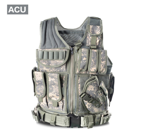 Military Tactical Vest Army Hunting Molle Airsoft Outdoor Body Armor - Cosplay Infinity