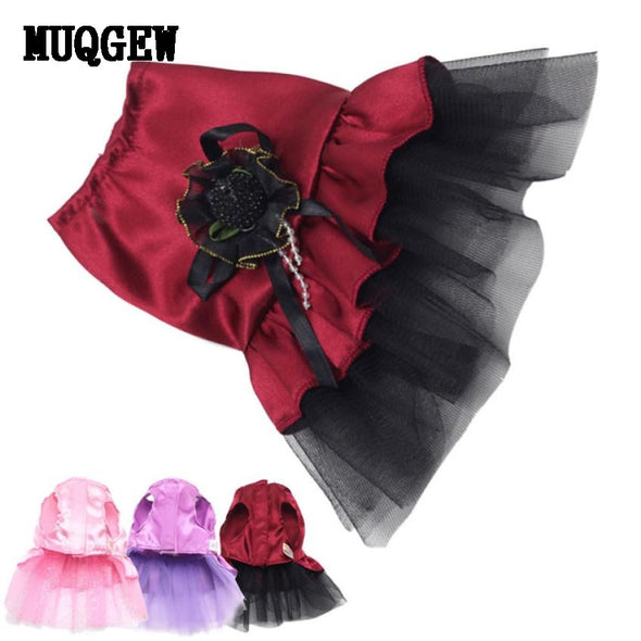 New Dog Cat Bow Tutu Dress & Sweet Lace Skirt Pet Puppy Dog 2018 Clothes Costume Cosplay - Cosplay Infinity