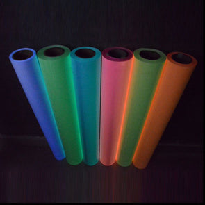 Glow in the Dark Roll of T-Shirt Vinyl Heat Press Vinyl Transfer