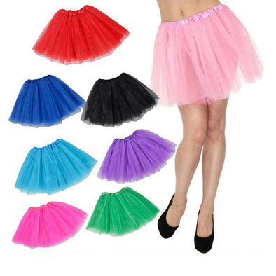 Women Tulle Layered Tutu Skirt Dress Princess Costume - Cosplay Infinity