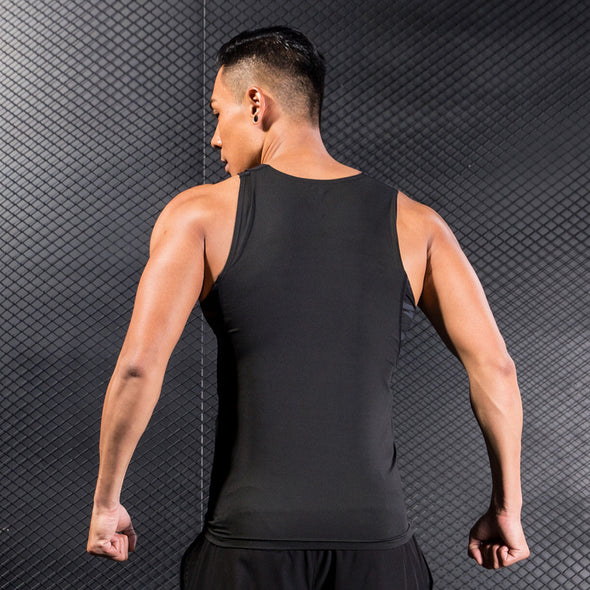 Man Workout Fitness Sports Gym Running Athletic Shirt Top Tank Vest - Cosplay Infinity