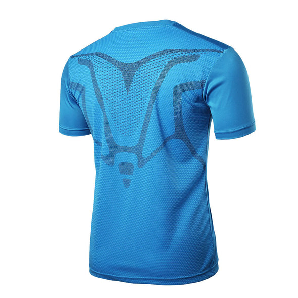 Man Workout Shirt Fitness Sports Gym Running Yoga Athletic Tshirt - Cosplay Infinity