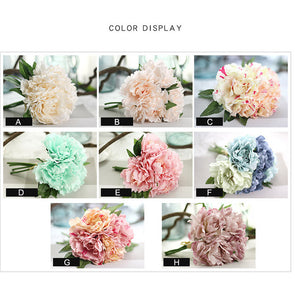 One Bouquet of Artificial Fake Flowers Leaf Magnolia Floral Crafts - Cosplay Infinity