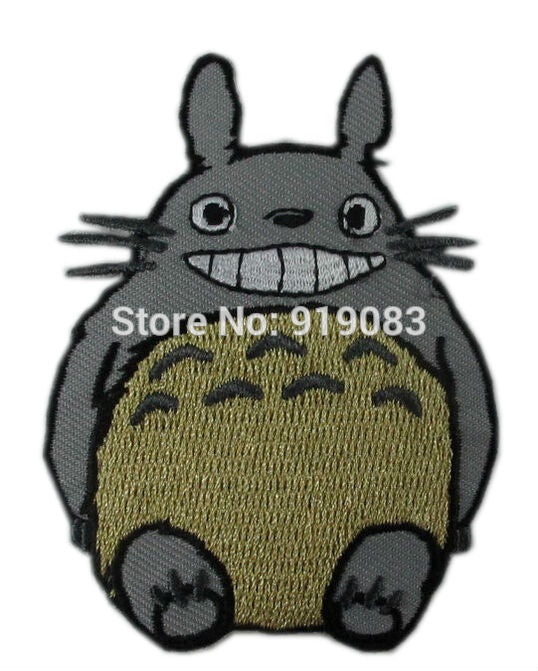Lot of Ten MY NEIGHBOR TOTORO Applique Japanese ANIME TV Movie Fancy Embroidered Sew On Iron On Patch Applique Memorabilia - Cosplay Infinity