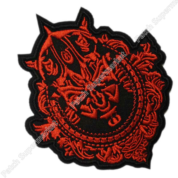 "Lot of Ten 4"" Star Wars Darth Maul Framed TV Movie Film Costume Embroidered Sew On Iron On Patch TRANSFER APPLIQUE Memorabilia - Cosplay Infinity"