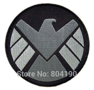Lot of Three S.H.I.E.L.D. (AVENGERS) New Marvel SHIELD AGENT Movie Iron On Sew On Patch - Cosplay Infinity