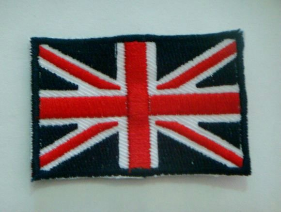 Lot of Ten England National Flag Sewing On Embroidery Patch U.K. Crest Sport Patch Badge - Cosplay Infinity