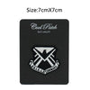 "One AVENGERS/AGENTS OF SHIELD TV Series 3"" SHIELD Command Logo Movie Iron On Sew On Patch - Cosplay Infinity"
