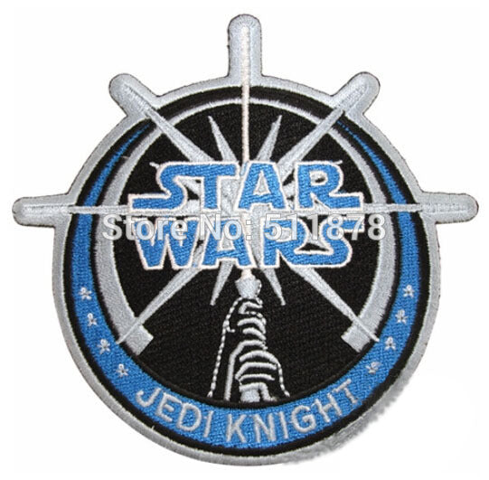 "10 Pieces 4.25"" Star Wars Jedi TV Movie Embroidered Sew On Iron On Patch - Cosplay Infinity"