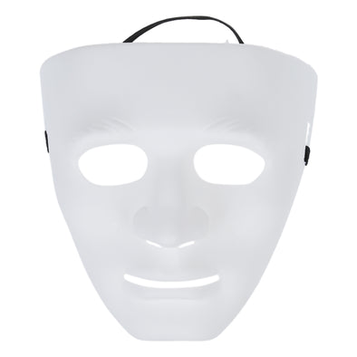 One Blank Male Mask Halloween Costume Drama Mask Cosplay DIY Paint Your Own Free Shipping - Cosplay Infinity