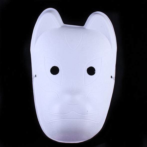 Lot 10 Women Blank Form White Party Mask Paper Pulp for Painting - Cosplay Infinity
