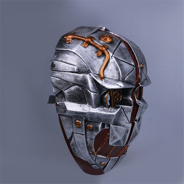 Takerlama Dishonored Helmet Masks Cosplay Corvo Attano Mask