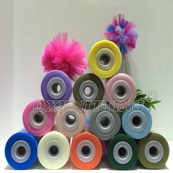 40 Colors Available 100% Nylon Tulle Spool Roll 100 Yards - Cosplay Infinity