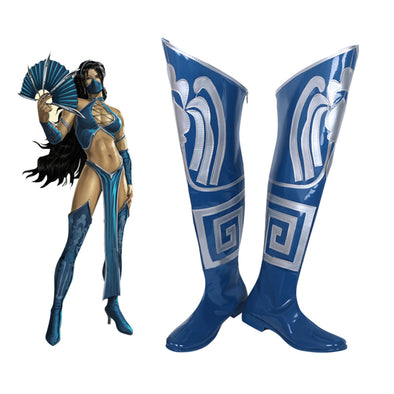 Mortal Kombat 9 Kitana Cosplay Shoes Boots - Cosplay Infinity