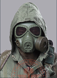 Gas Masks Fan Tactical Full Face Mask Military Army Cosplay Airsoft - Cosplay Infinity