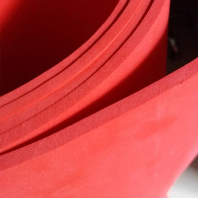 3mm-10mm Red Eva Foam Sheets Cosplay Costume 50*200cm, 19.6in x 78.7in