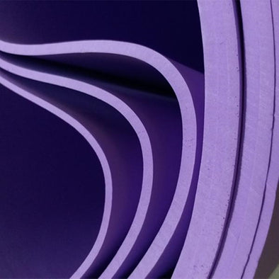 Violet, Purple, Lavender 3mm -10mm Eva Foam Sheets  50*200cm, 19.6 x 78.7in - Cosplay Infinity
