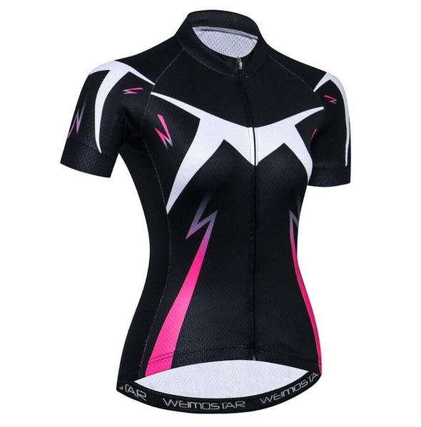 Women's Cycling Jersey Breathable Bike Jersey MTB Youth Ladies Bike Shirts Short Sleeve