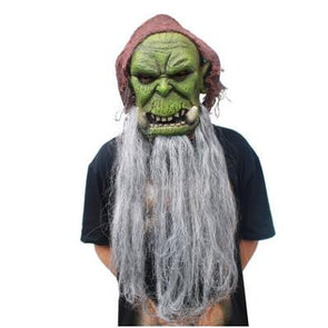 Orcs Guldan Masks Game Movie Cosplay Adult Scary Latex Mask for Halloween Costume Party - Cosplay Infinity