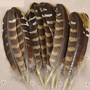 50pcs/lot 15-20cm Pheasant Wing Feathers Wedding Party Millinery Art Craft Cosplay - Cosplay Infinity
