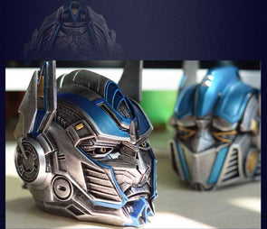 High Quality Optimus Prime Mask Helmet The Avengers Ashtray Container - Cosplay Infinity