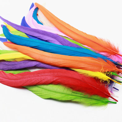 "New! High Quality 10pcs Rooster Feathers 12-14""/30-35CM Cosplay Costume Wings Headdress - Cosplay Infinity"