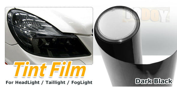 600cmX30cm/20ft*12in  5 color Available Fog Headlight Tail Light Tint Vinyl Film Wrap - Cosplay Infinity