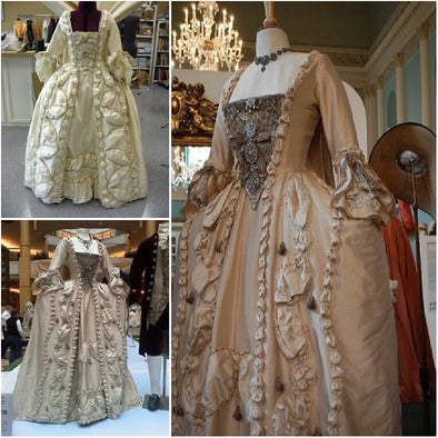 Civil War Southern Belle Ball Gown Dress Marie Antoinette - Cosplay Infinity