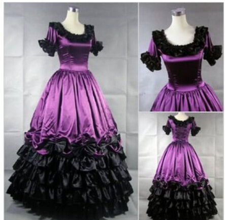 Southern Victorian Dress Ball Gown Gothic Plus Size Customized ...