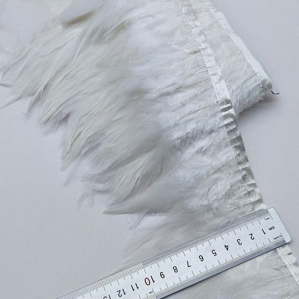 5/10 Yards Feather Trim Ribbon Clothing Wedding Feather Cosplay Accessories