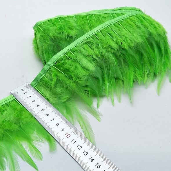 5/10 Yards Feather Trim Ribbon Clothing Wedding Feather Cosplay Accessories - Cosplay Infinity