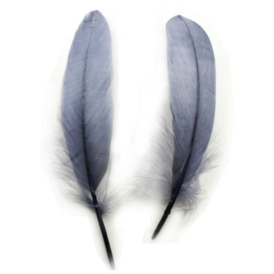 500pcs/lot!15-20cm, 6-8in Gray Goose Feathers