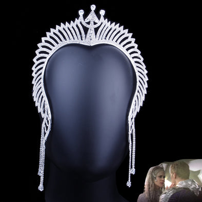 Justice League Atlanna Tiara Crown Cosplay Mera Headband Rhinestone