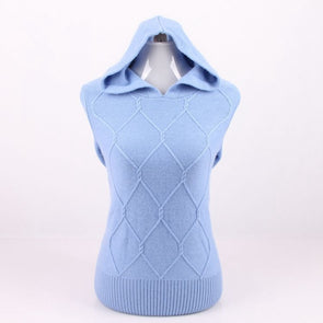 100% Cashmere Knit Women Fashion Hoodies Sweatshirts Pullover Jacket S/90-5XL/125 - Cosplay Infinity