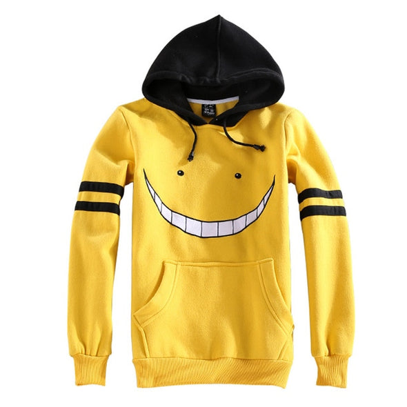 Assassination Classroom Cosplay Costume Hoodies and Pants Set
