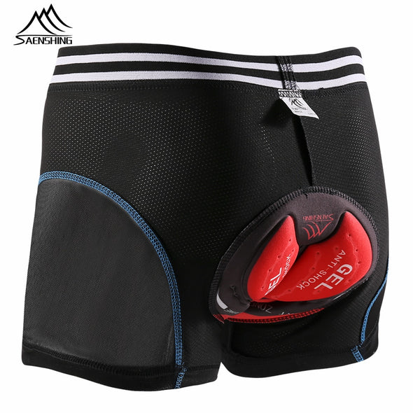 5D Gel Pad Cycling Underwear Men Mountain Bike Briefs Downhill MTB Padded Cycling Shorts Men Compression Tights Shorts - Cosplay Infinity