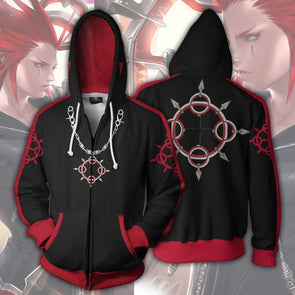 Kingdom Hearts 3 Sora Hoodie Sweatshirt Cosplay Sora Zipper Men Women Jacket Coat Costume Hoodies - Cosplay Infinity
