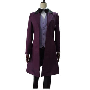 Custom Made Dr Who is Doctor Cosplay Dr. Long Trench Coat Costume Tailored Costume Halloween