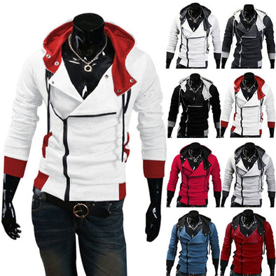 Stylish AC Hoodie Men's Cosplay Hoodies Cool Slim Jacket - Cosplay Infinity
