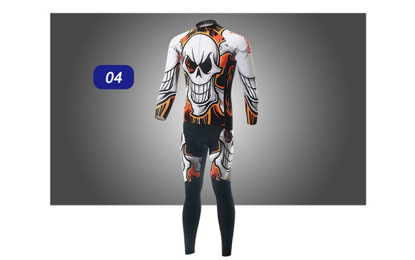 Zen2 Autumn Winter Men Bicycle Bike Clothing Long Sleeves Cycling Jersey Riding Suits - Cosplay Infinity