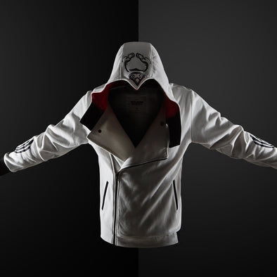 Men Hoodie Sweatshirt Long Sleeve Slim Fit  Zipper Hoodies Casual Cardigan Creed Jacket Plus Size S-5XL - Cosplay Infinity