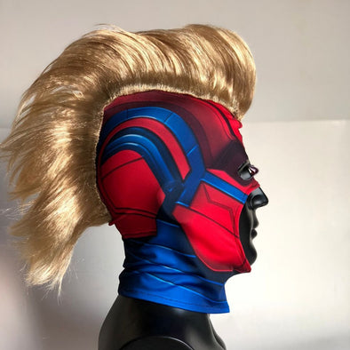 Captain Marvel Mask Cosplay Captain Marvel Carol Helmet - Cosplay Infinity