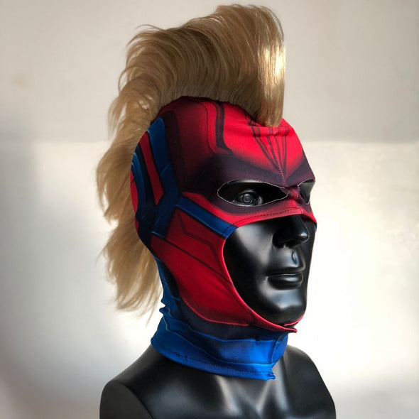 Captain Marvel Mask Cosplay Captain Marvel Carol Helmet
