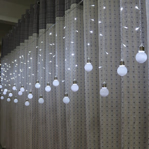 216 led AC 220V/110V Romantic Bulb LED Curtain String Lighting For Holiday Wedding Garland Party Decoration