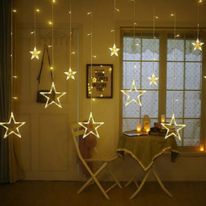 Star String Lights Christmas Light Patio Lights Lighting for Home Garden Lawn Party Decorations