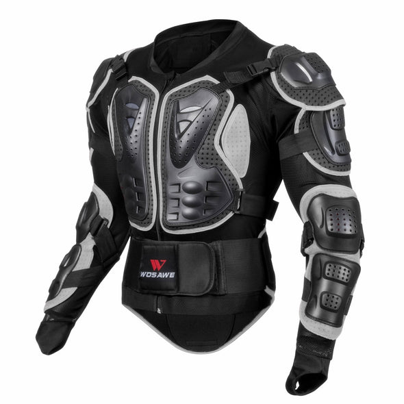Men Full Body Motorcycle Armor Motocross Back Shoulder Racing Protective Gear Breathable Moto Motorcycle Jacket Cosplay - Cosplay Infinity