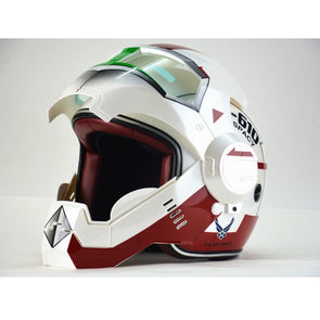 New Design Iron Man motorcycle half helmet open face Casco Capacete Motorcycle Helmet - Cosplay Infinity